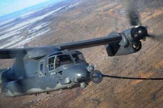 CV-22 Osprey Refueling