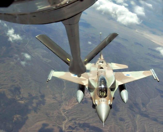 F-16I Sufa fuels