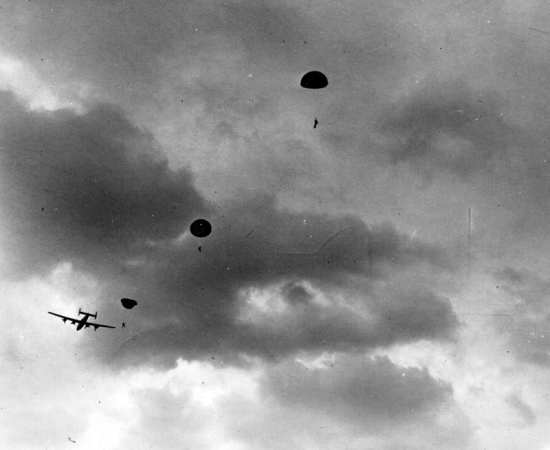 Jeds jump from B-24