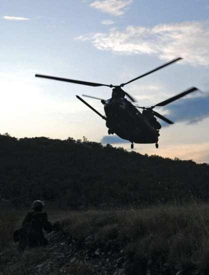 U.S. Army MH-47 Chinook