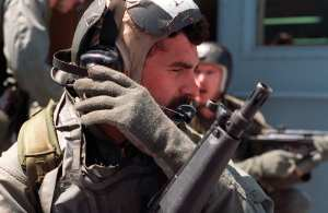 Navy SEAL In Operation Desert Storm