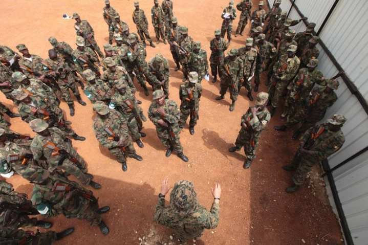 SOF Training In Uganda