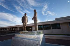 Yarborough And Kennedy Statue