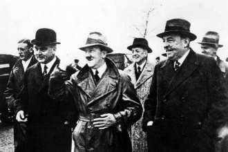Adolf Hitler and Fritz Thyssen