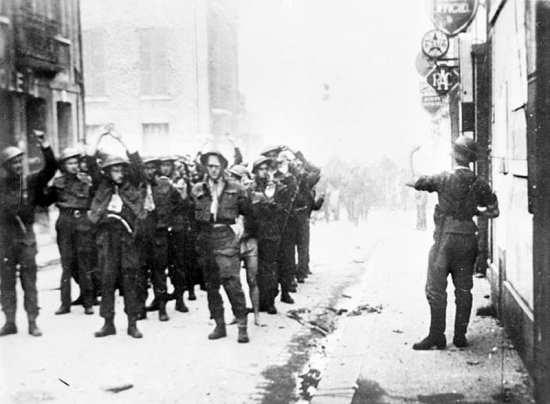 Dieppe Raid Prisoners