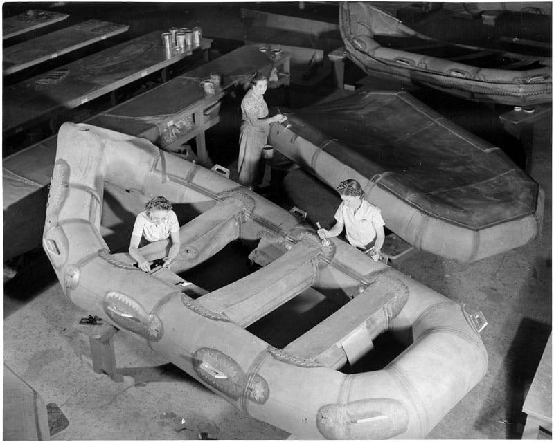 Women War Workers During World War II