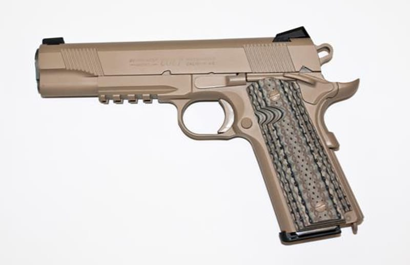 Colt Pistols and Revolvers for Firearms Collectors - Model of 1911 ...
