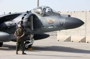 VMA-211/231 CO's Harrier