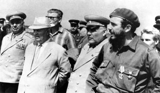 Kruschchev and Castro