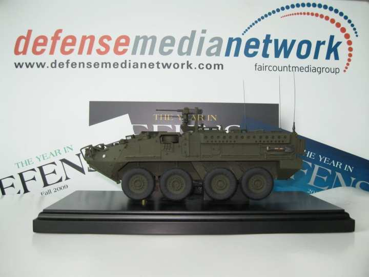 Museum Quality Model of the Army's Stryker Armored Combat Vehicle