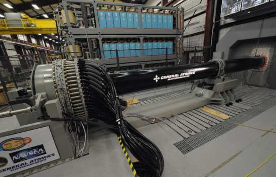 Office of Naval Research (ONR) Electromagnetic (EM) Railgun