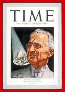 Investigator Truman On Cover Of Time Magazine