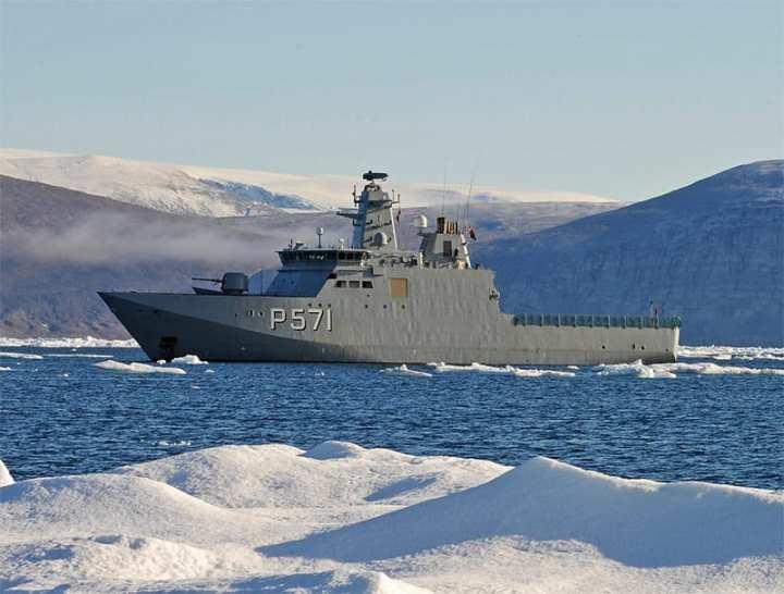 Knud Rasmussen icy floes