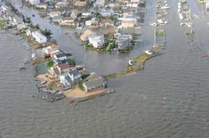 Long Island damage, Sandy