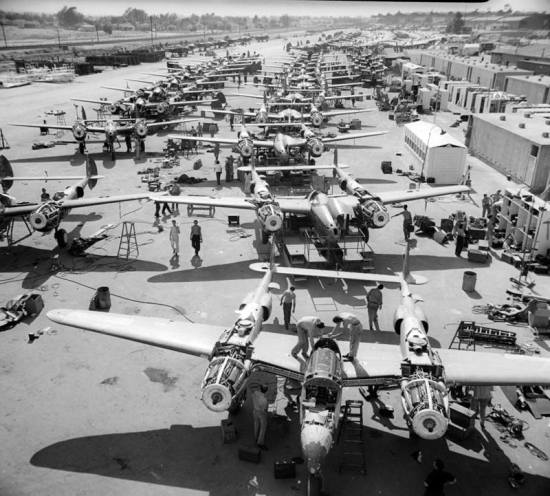 P-38 Lightning Production