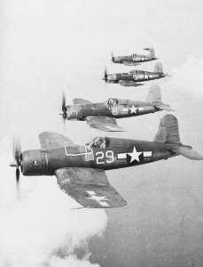 F4U-1As of VF-17