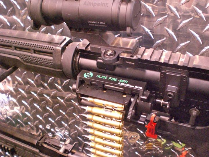 New Belt-Fed AR-15 Option Unveiled | Defense Media Network