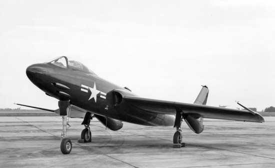 XF7U-1 Cutlass