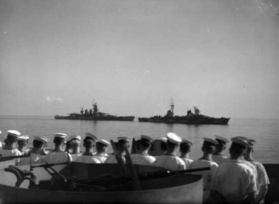 Italian Fleet Surrender