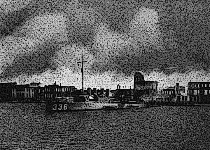 USS Litchfield, Smyrna