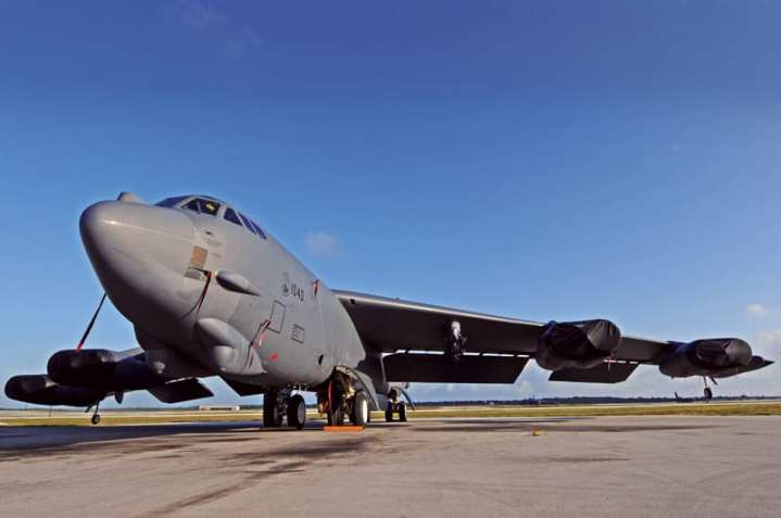 Oct. 26, 2012, marked 50 years since Boeing delivered its last B-52 Stratofortress to the U.S. Air Force from its Wichita, Kan., facility. Aircraft 61-040, an H-model bomber was assigned to Minot Air Force Base, N.D., and remains in active service. In this photo, 61-040 is parked on the flight line at Andersen Air Force Base, Guam on May 4, 2012. The aircraft has logged more than 21,500 flight hours. While the Air Force wants and needs the Long Range Strike-Bomber (LRS-B) system, it faces an uncertain budget environment. U.S. Air Force photo by Senior Airman Carlin Leslie