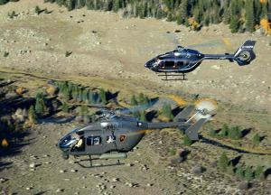EADS North America's AAS-72X has successfully completed a series of flight demonstrations for the U.S. Army's Armed Aerial Scout helicopter competition. EADS North America photo by James Darcy