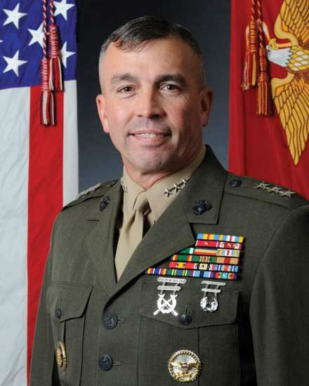 USMC Deputy Commandant of the Marine Corps for Programs and Resources Lt. Gen. John E. Wissler