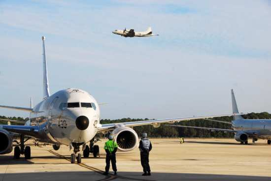 P-3 Orion and P-8 Poseidon