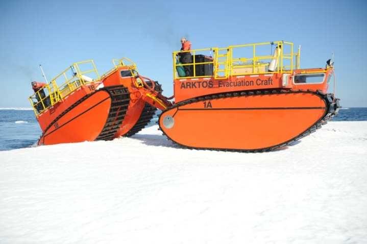 ARKTOS amphibious craft