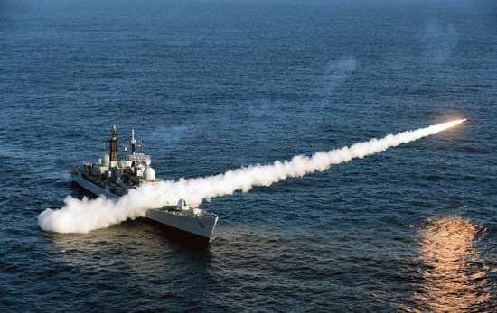 Final Sea Dart Launch