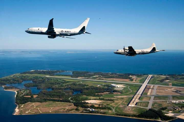 P-8 Poseidon and P-3 Orion