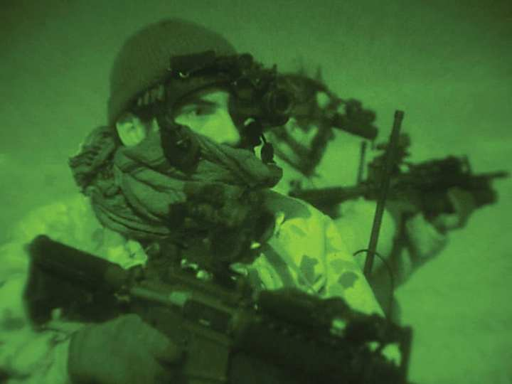 Australian 4th battalion night patrol