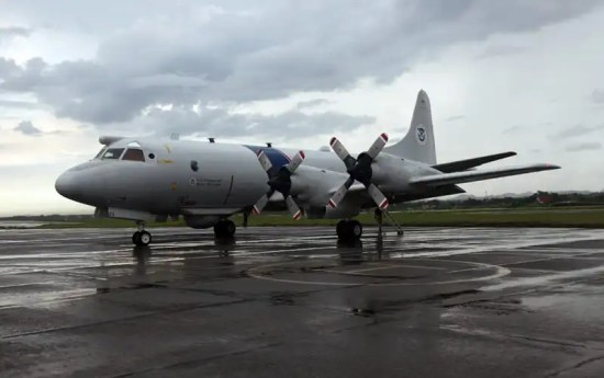 U.S. Customs and Border Protection patrol P-3 Orion