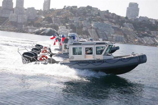 Chilean SAFE Boats Defender