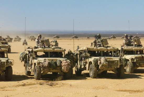Ground mobility 5th Special forces group