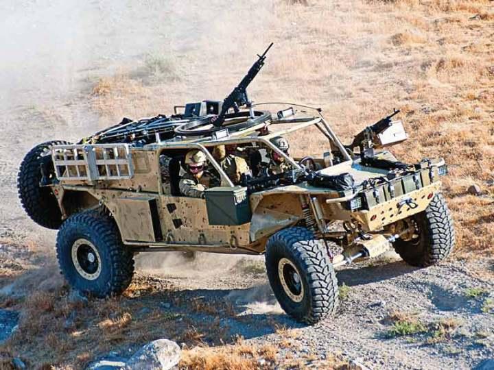 HDT Global Tactical Vehicle GAARV