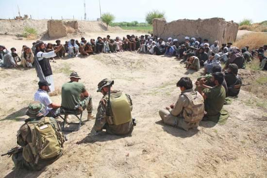 MARSOC shura Helmand province