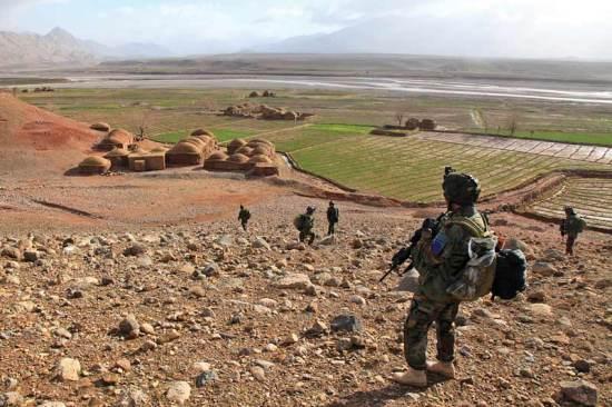 Marine presence patrol Farah province
