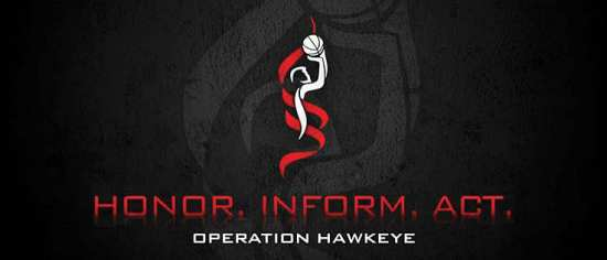 Operation Hawkeye logo black
