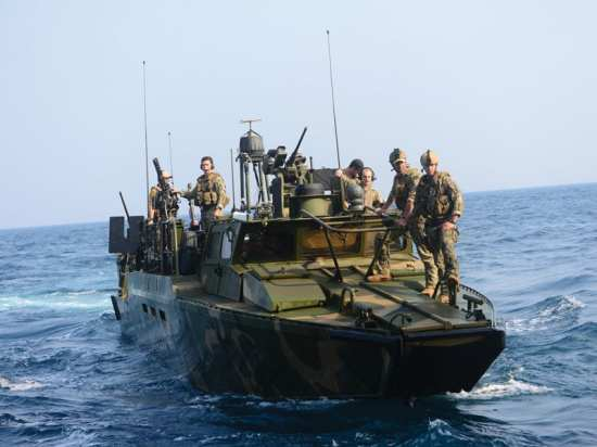 RIVRON 2 patrol Arabian Gulf