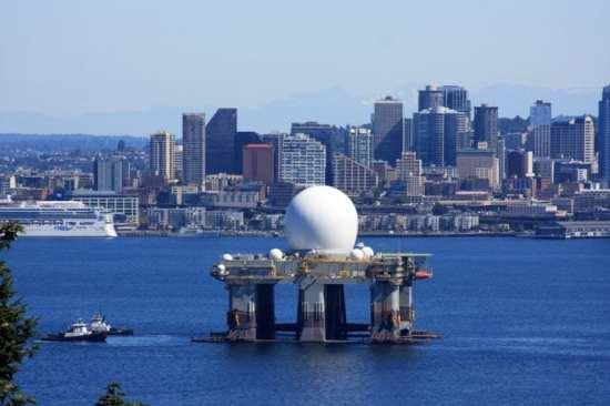 Sea-based X-Band radar (SBX-1)