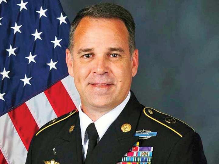 Sgt Maj Chris Faris