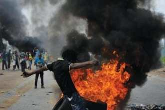 Global Trends 2030 South Africa riots