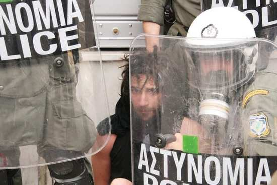 Global Trends 2030 Greece riots