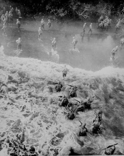Marines at New Britain_Operation Cartwheel