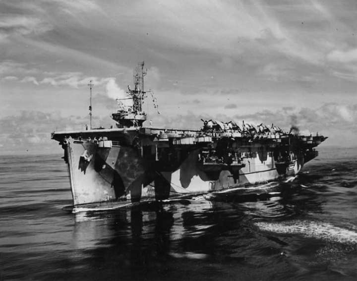 Escort carrier USS Bogue CVE 9
