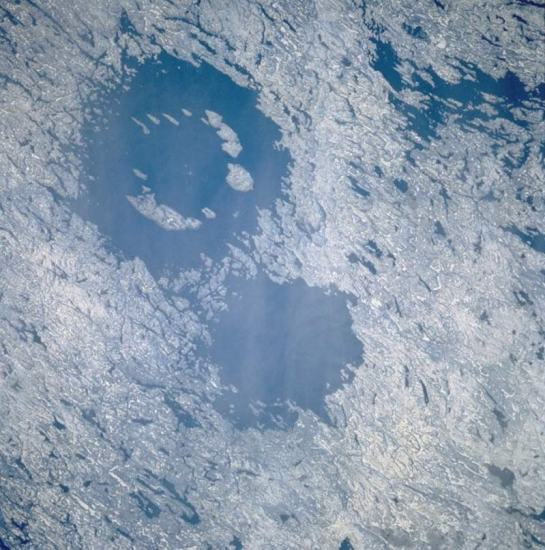 Clearwater Lakes craters