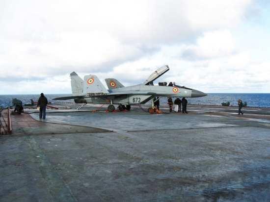 MiG-29KUB Vikramaditya trials