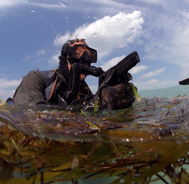 U.S. Navy SEAL Diver