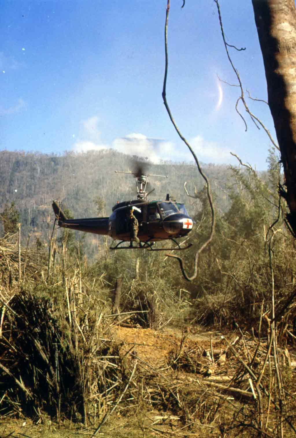 UH-1D Medevac Helicopter
